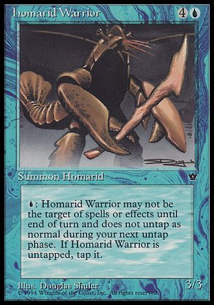 Homarid Warrior, Fallen Empires
