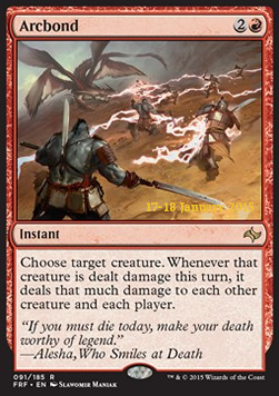 Arcbond, Fate Reforged Promos