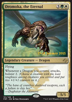 Dromoka, the Eternal, Fate Reforged: Promos