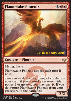 Flamewake Phoenix, Fate Reforged: Promos