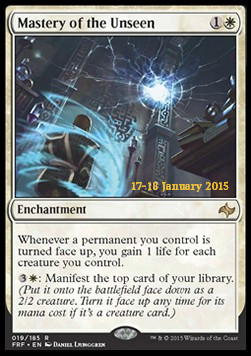 Mastery of the Unseen, Fate Reforged Promos