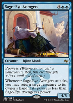 Sage-Eye Avengers, Fate Reforged Promos