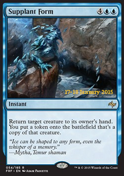 Supplant Form, Fate Reforged Promos