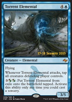 Torrent Elemental, Fate Reforged Promos