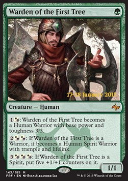 Warden of the First Tree, Fate Reforged: Promos
