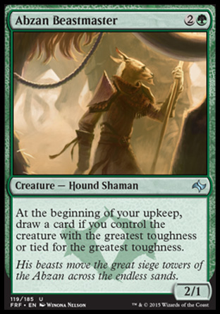 Abzan Beastmaster, Fate Reforged