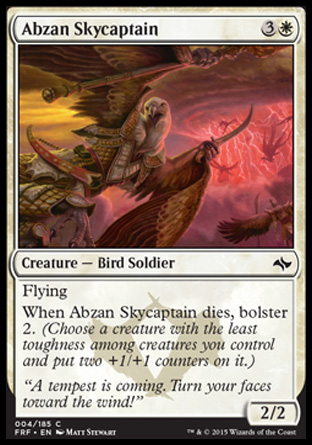 Abzan Skycaptain, Fate Reforged