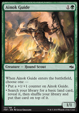 Ainok Guide, Fate Reforged