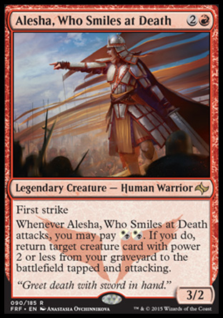 Alesha, Who Smiles at Death, Fate Reforged