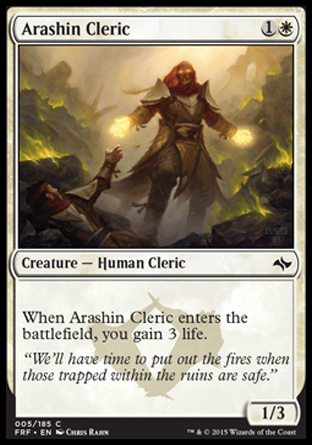 Arashin Cleric, Fate Reforged