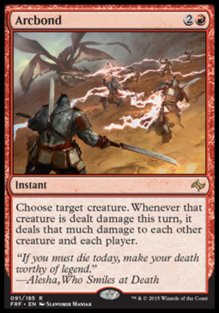Arcbond, Fate Reforged