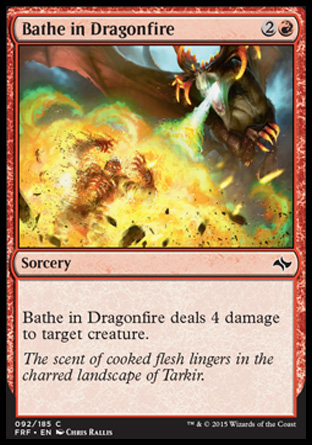 Bathe in Dragonfire, Fate Reforged