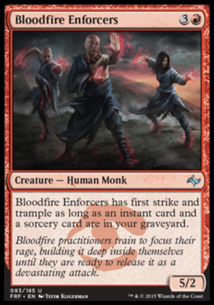Bloodfire Enforcers, Fate Reforged