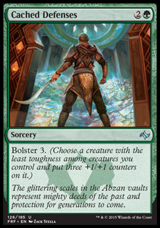 Cached Defenses, Fate Reforged