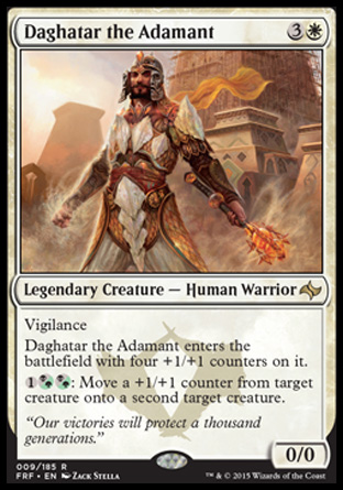 Daghatar the Adamant, Fate Reforged
