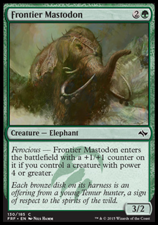 Frontier Mastodon, Fate Reforged
