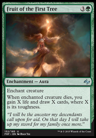 Fruit of the First Tree, Fate Reforged