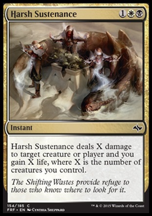 Harsh Sustenance, Fate Reforged
