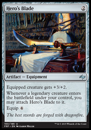 Hero's Blade, Fate Reforged