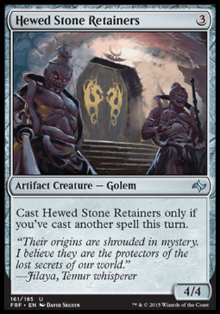 Hewed Stone Retainers, Fate Reforged