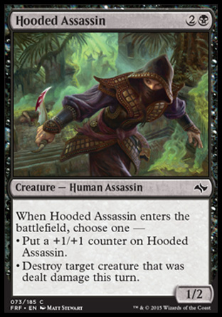 Hooded Assassin, Fate Reforged