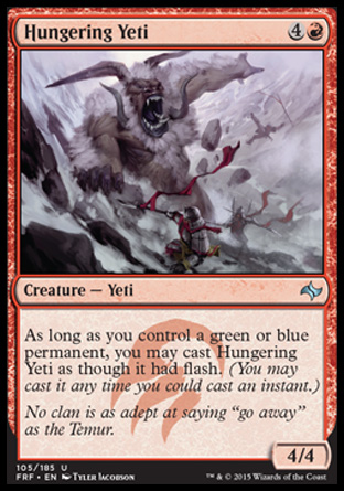 Hungering Yeti, Fate Reforged