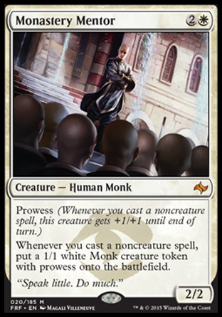 Monastery Mentor, Fate Reforged