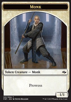 Monk Token, Fate Reforged
