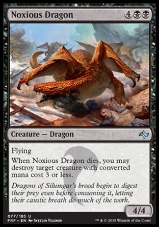 Noxious Dragon, Fate Reforged