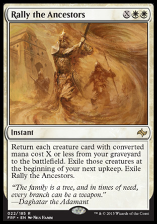 Rally the Ancestors, Fate Reforged