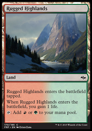 Rugged Highlands, Fate Reforged