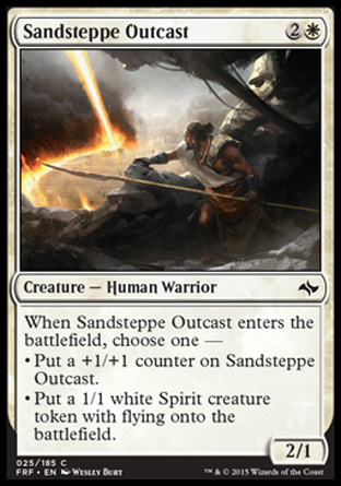Sandsteppe Outcast, Fate Reforged
