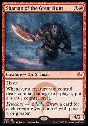 Shaman of the Great Hunt, Fate Reforged