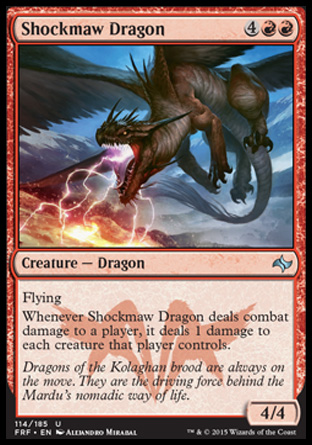 Shockmaw Dragon, Fate Reforged