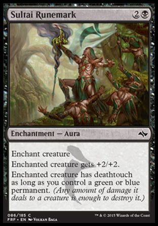 Sultai Runemark, Fate Reforged