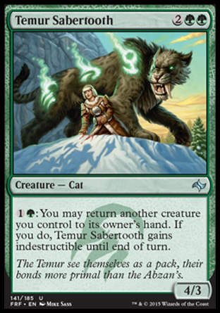 Temur Sabertooth, Fate Reforged