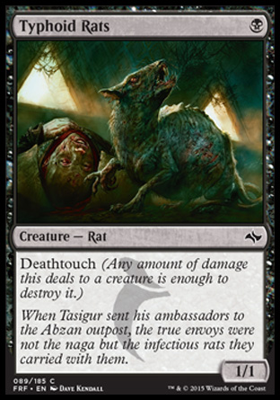 Typhoid Rats, Fate Reforged