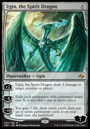 Ugin, the Spirit Dragon, Fate Reforged
