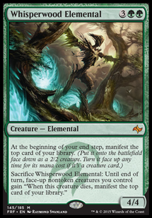 Whisperwood Elemental, Fate Reforged
