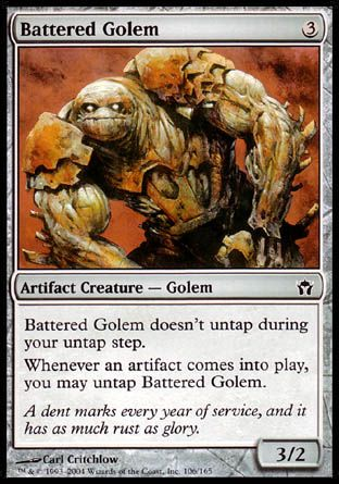 Battered Golem, Fifth Dawn