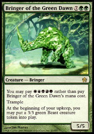 Bringer of the Green Dawn, Fifth Dawn