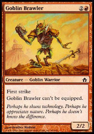 Goblin Brawler, Fifth Dawn