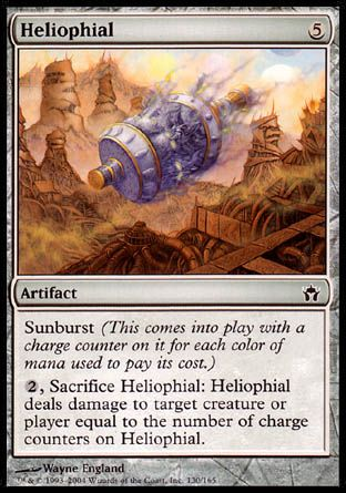 Heliophial, Fifth Dawn