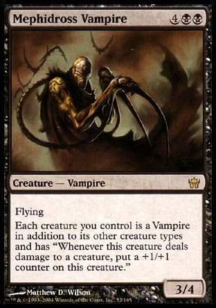 Mephidross Vampire, Fifth Dawn