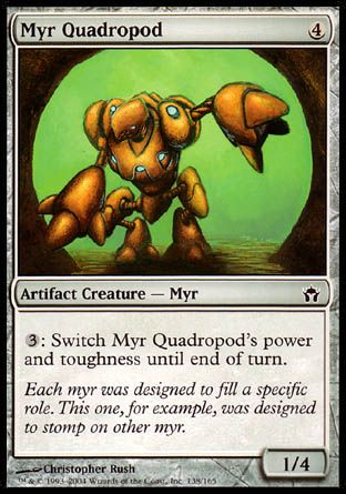 Myr Quadropod, Fifth Dawn