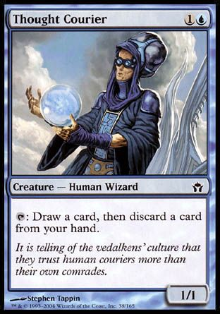 Thought Courier, Fifth Dawn