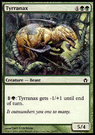 Tyrranax, Fifth Dawn