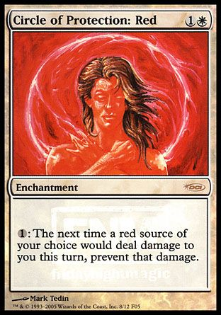 Circle of Protection: Red, Friday Night Magic