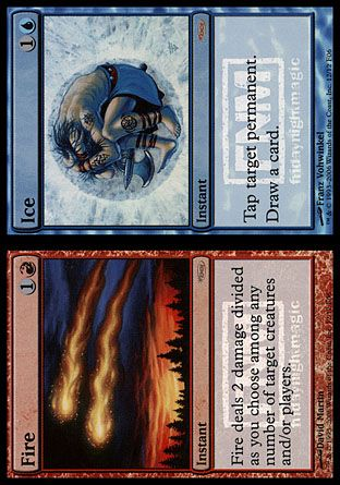 Fire // Ice, Friday Night Magic