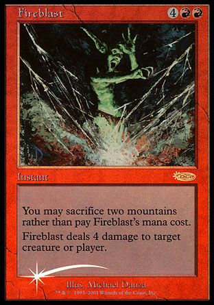 Fireblast, Friday Night Magic
